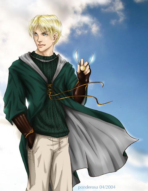 Elf Harry or Draco